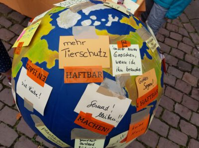 Weltkugel Weltladen