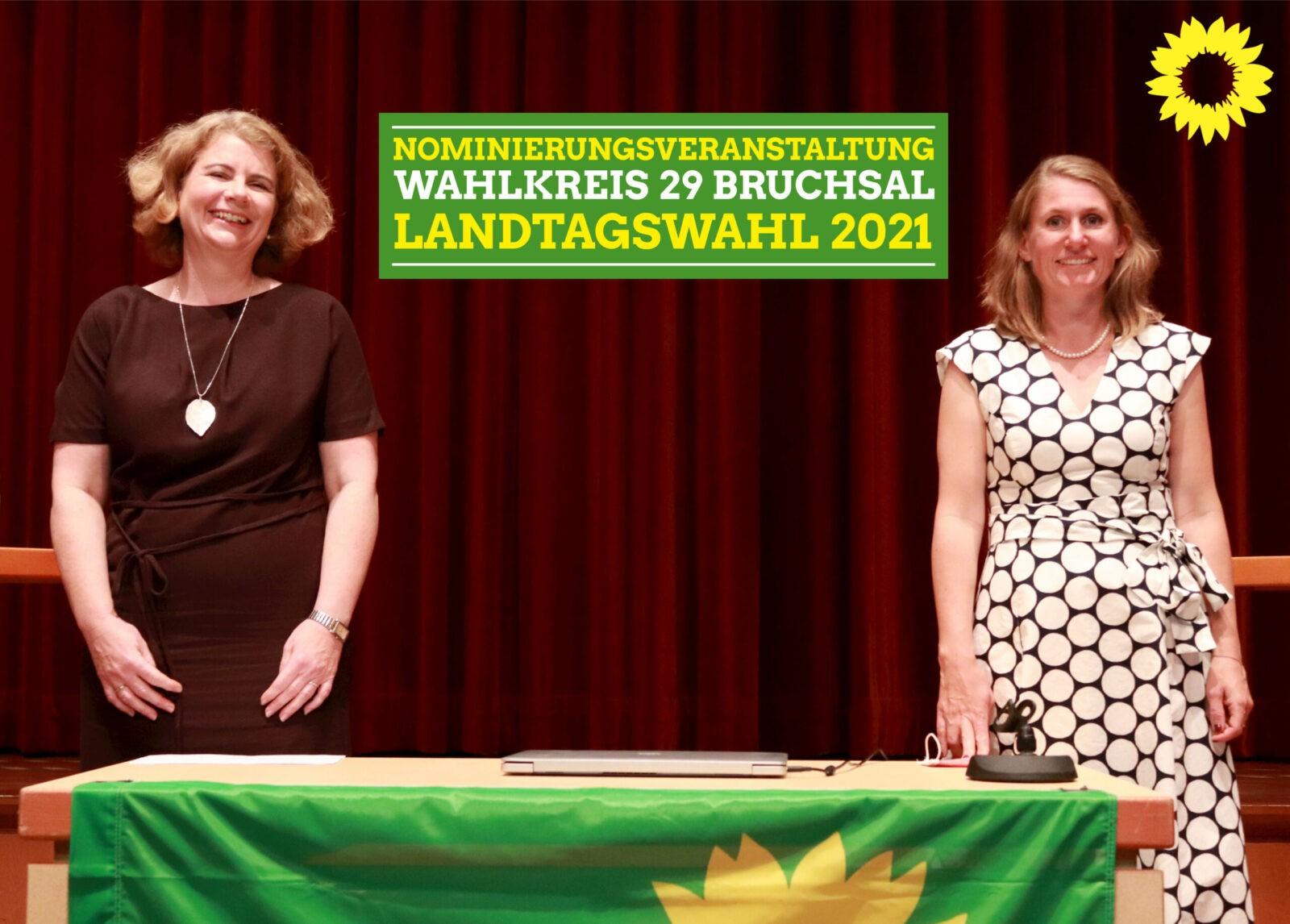 Grüne nominieren ihre Kandidatinnen für den Wahlkreis Bruchsal