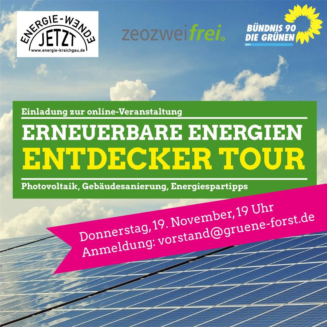 Erneuerbare Energien Entdecker Tour