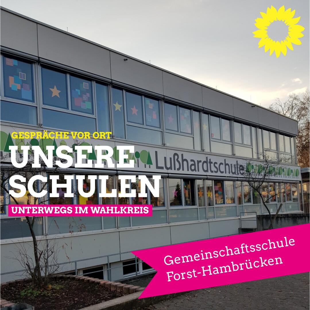 Besuch in der Gemeinschaftsschule Forst-Hambrücken