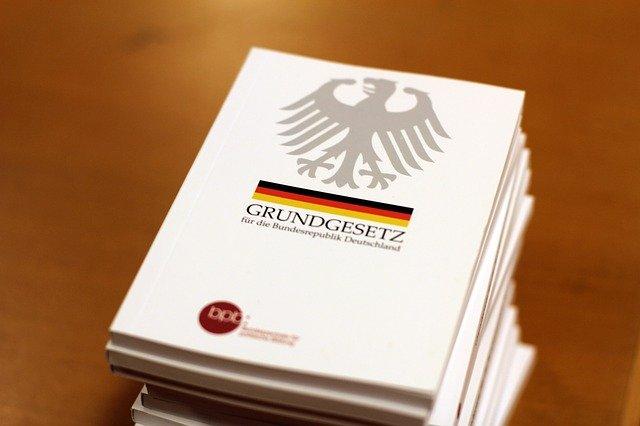 The Basic Law Germany Book  - InstagramFOTOGRAFIN / Pixabay