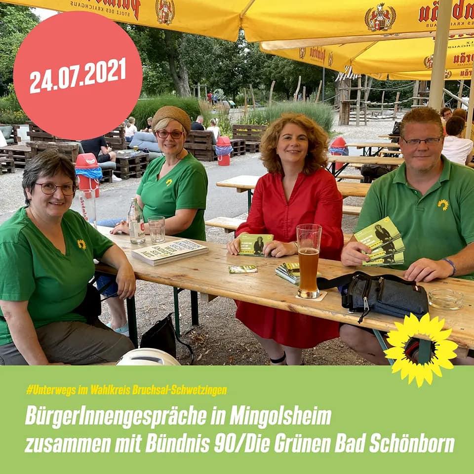 BürgerInnen Gespräch in Mingolsheim