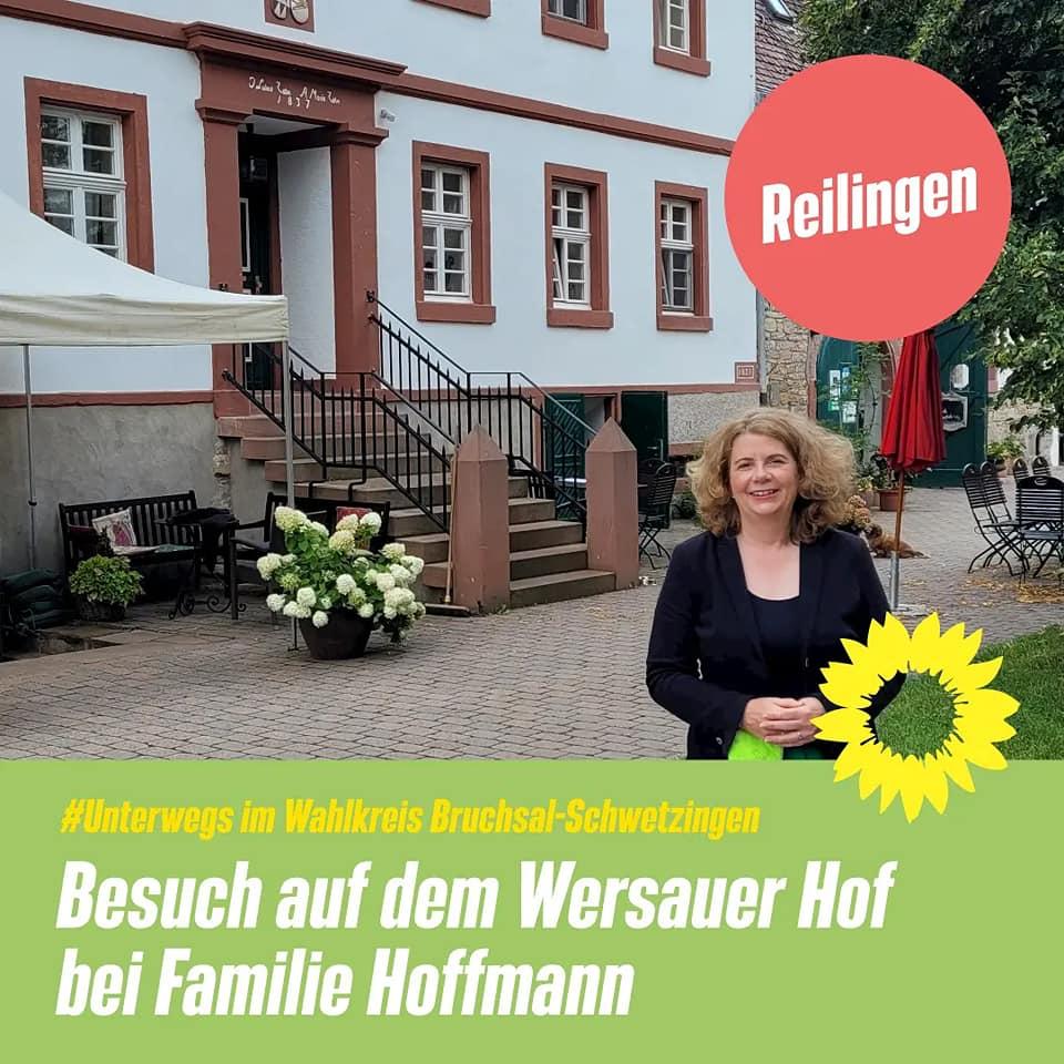 Besuch auf dem Biolandhof bei Familie Hoffmann