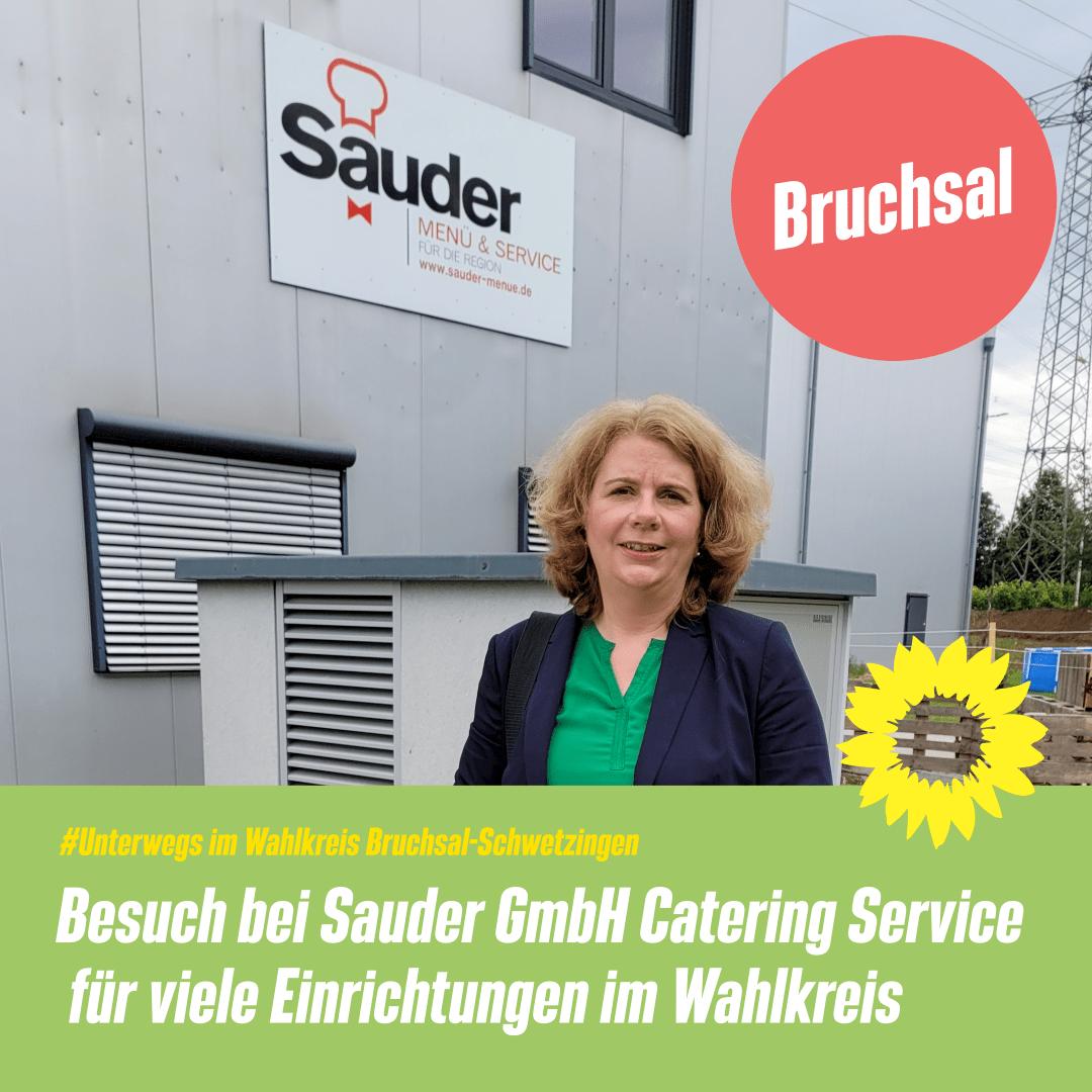 Besuch bei der Firma Sauder GmbH in Bruchsal