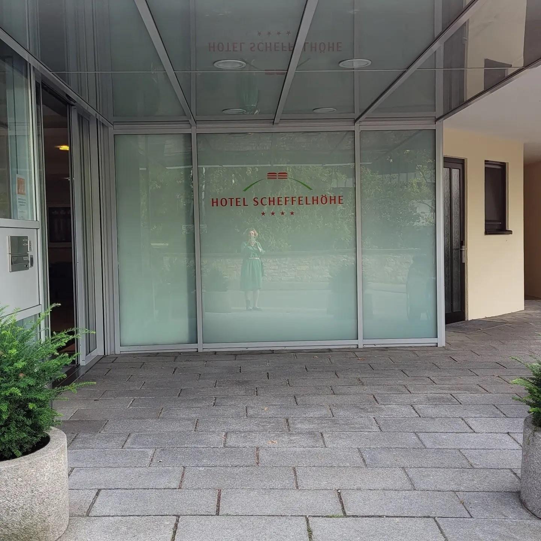 Besuch im Hotel Scheffelhöhe in Bruchsal